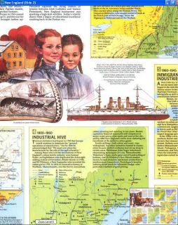 National Geographic Vintage Maps of History and Culture