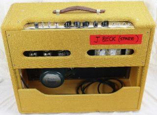 Custom Shop 57 Twin 2x12 40w Electric Guitar Amplifier Amp  Jeff Beck