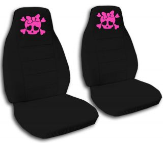 Cute Skull Car Seat Covers Choose Other Items Back Seat Avbl