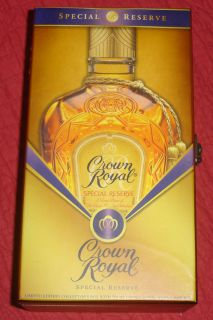 Crown Royal Bottle with 2 Bags Case W0W L00K NR