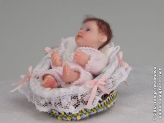 Cutie Pie   OOAK Original 3 Baby Girl Fantasy Art Doll by Tanya