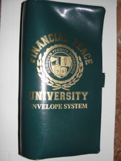 Dave Ramsey Financial Peace University Envelope System