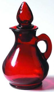 manufacturer anchor hocking pattern royal ruby piece cruet size 5 1 4