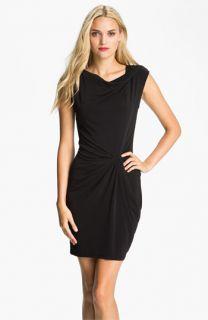 MICHAEL Michael Kors Cowl Neck Twist Detail Dress