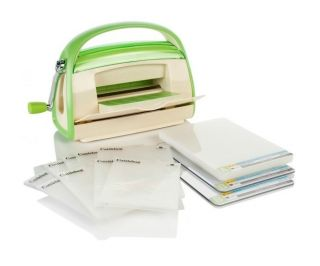 Cuttlebug Die Cutting and Embossing Machine with 9 Embossing Folders