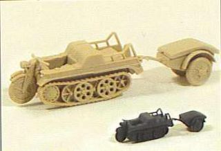 German WWII SdKfz 2 NSU Kettenkrad HK 101 Trident 90124G for 1 87