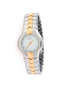 Tag Heuer Alter Ego 18K Gold Stainless Steel White Dial WP1350 Retail