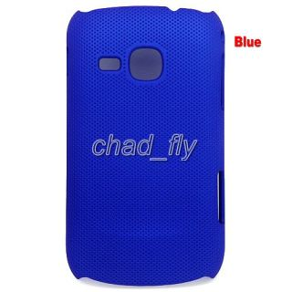 Hard Stylish Jelly Candy Mesh Case Cover Skin for Samsung Galaxy Mini