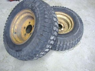 SIMPLICITY 4040 Allis CHALMERS 616 620 720 4041 9020 FRONT WHEELS