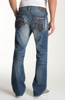 MEK Denim Ammat Bootcut Jeans (Dark Blue Wash)