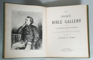 Offered is The Dore Bible Gallery with illustrations by Gustave Dore