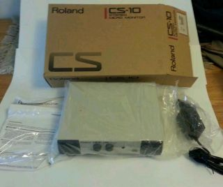 New ROLAND CS 10 STEREO MICRO MONITOR SPEAKER SYSTEM   Free Ship