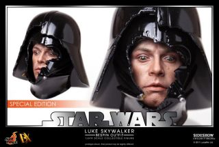 VIP DX07 Star Wars Luke Skywalker (Bespin Outfit) 1/6 DARTH VADER HEAD