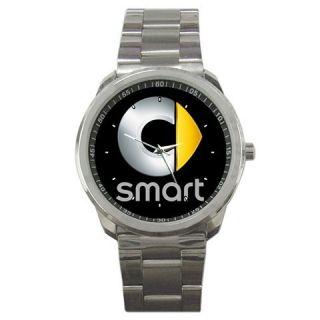 smart City Micro Car Daimler Benz Logo Sport Metal Watch CLR
