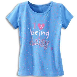 Girl Scout Daisy T Shirt I Love Daisies Size XS Small