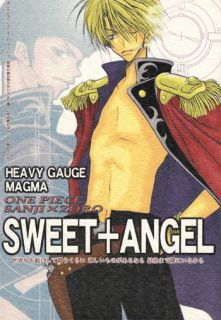 One Piece Doujinshi Sanji x Zoro Zolo Sweet Angel Vanp