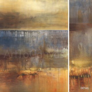 30x40 Ambergris Heather Ross Outstanding HueD Canvas