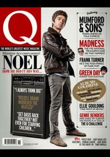 Magazine 316 November 2012 Noel Gallagher Lady Gaga Green Day Adam