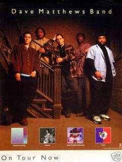 Dave Matthews Band 1997 Crush Tour Promo Poster
