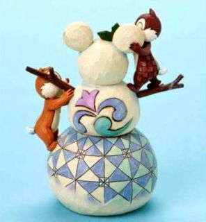 snowman w chip dale brand new in original box packaging presented by
