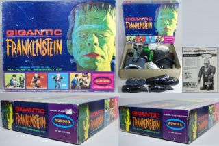 Model Boxed 1964 Giganic Big Frankie Frankensein Boxed B