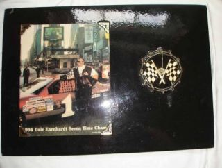 1994 Dale Earnhardt Seven Time Champ Limited Edition Clock