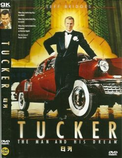 Tucker The Man and His Dream Jeff Bridges Coppola DVD
