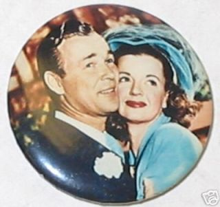 Roy Rogers Dale Evans Wedding Day Pin