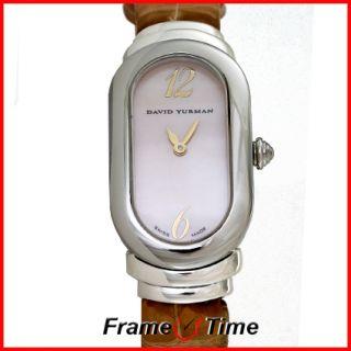 David Yurman Ladies Madison Sterling Silver Pearl Watch