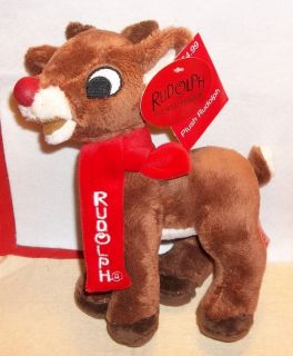 RUDOLPH THE RED NOSED REINDEER DAN DEE PLUSH TOY