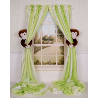Curtain Critters Baby Nursery Jungle Safari Zoo Monkey Curtain Tieback