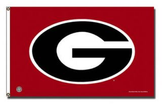 NCAA University of Georgia Bulldogs Dawgs 3x5 Rivals Flag with