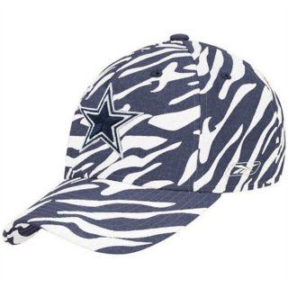 Dallas Cowboys Hat Cap Flex Fit One Size Zebra Print Team Colors NFL
