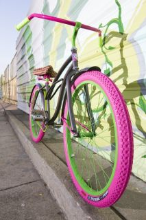 Watermelon Lovin A Villy Custom Beach Cruiser Bike Bicycle