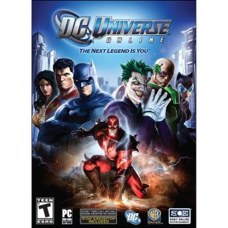 DC Universe Online super hero rpg role playing comic book PC Computer