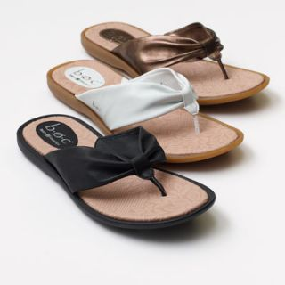New Womens BOC Born Davila Black Shoes Sandals hongs 7