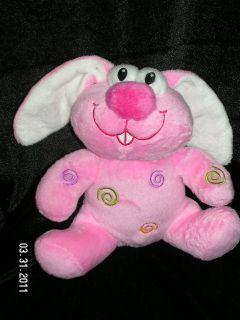 DanDee Dan Dee Pink Bunny Rabbit Plush Swirl