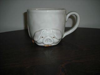 Vintage Fitz Floyd Porky Coffee Mug