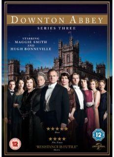 Downton Abbey Downtown Abbey Complete Season Series Three 3 DVD Boxset