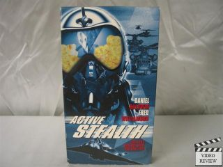 Active Stealth VHS Daniel Baldwin Fred Williamson 097368397637