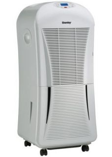 Danby Quiet 55 Pint 2 Speed Portable Dehumidifier Up to 3400 SF
