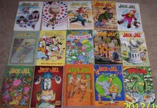 15 Childrens Jack and Jill Magazines Books  Issues July 1991 through