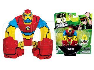 Bloxx Figure Ben 10 Omniverse Bandai Cartoon Network Action CN