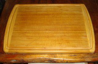 Large Cutting Board Butcher Block Wood True Bamboo