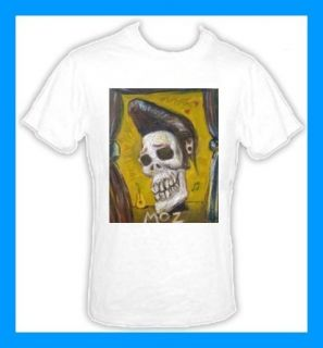 Morrissey Mozangeles Day of The Dead 80s T Shirt New
