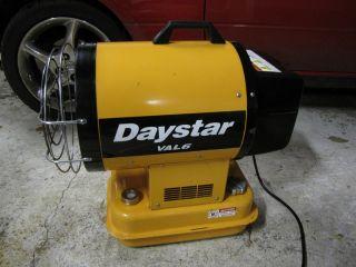 DayStar VAL6 Kerosene Diesel Heater Radiant and Forced Air by Shizuoka