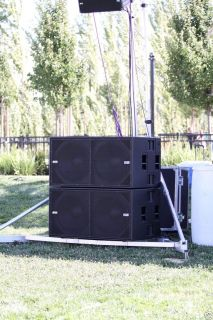 DB Technologies S20 Dual 18 Active Subwoofer 2000 Watts Used Pro Subs