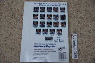 Cycling Team Postcards Lance Armstrong United States Postal Service