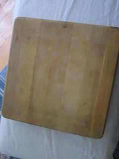 Heavy Old Cutting Board 2 Thick 11 Square Take A Look