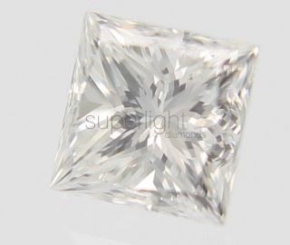 Certified 0 34 Carat D Color VVS2 Princess Buy Natural Loose Diamond 3